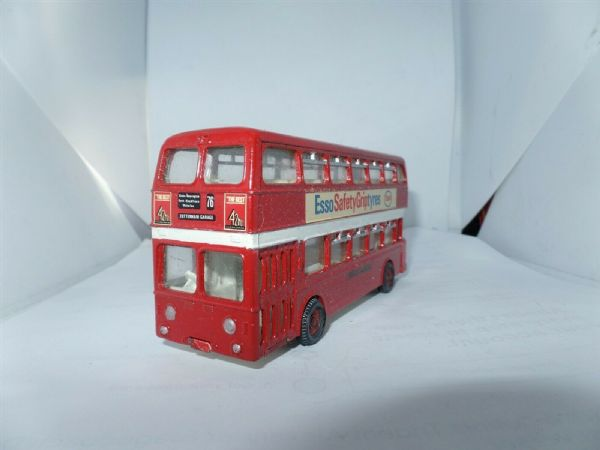 Dinky Atlantean Bus Code 3 London Transport 76 Tottenham Garage UB